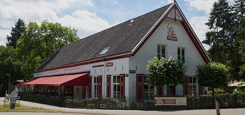 Pannenkoeken eten op de Veluwe